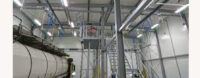chemical container cleaning system